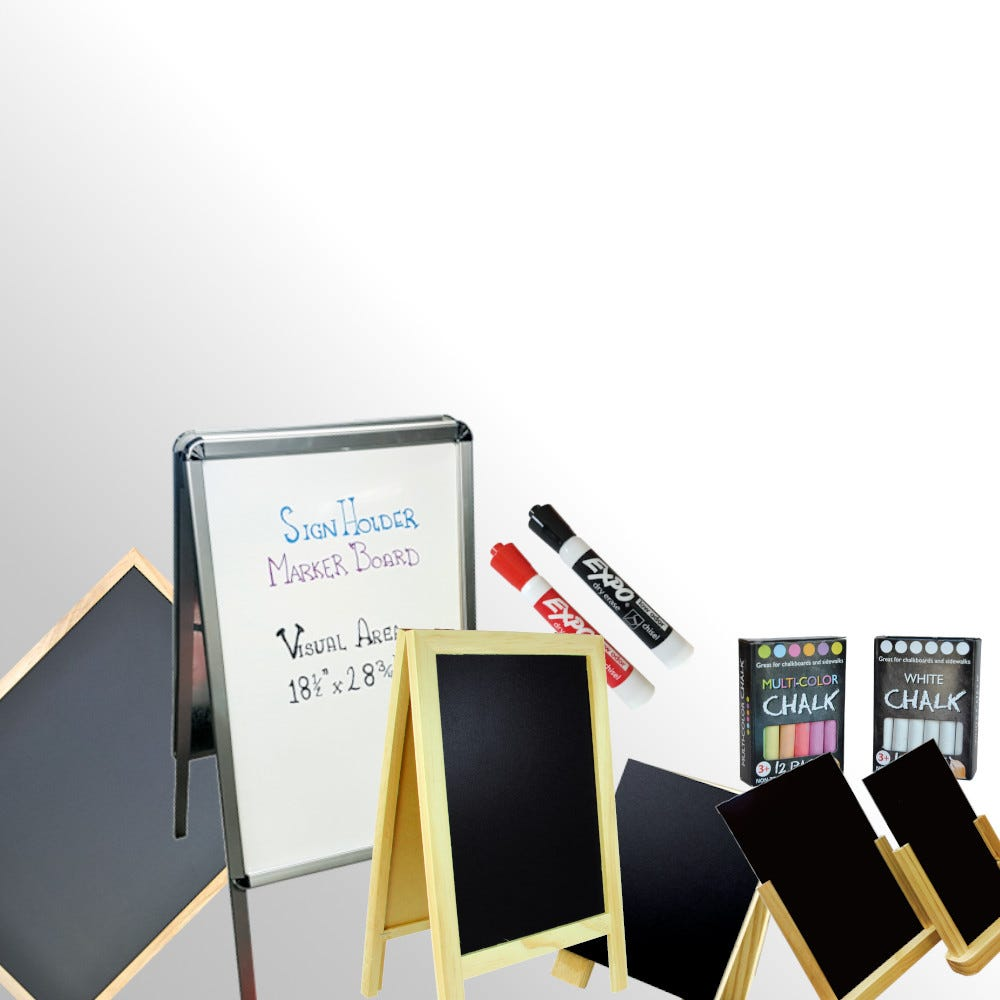 Chalkboards & Whiteboards