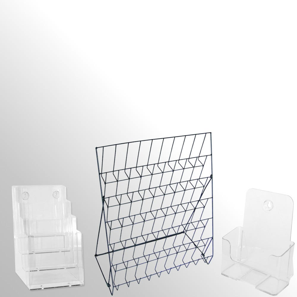 Countertop Brochure Holders & Literature Racks