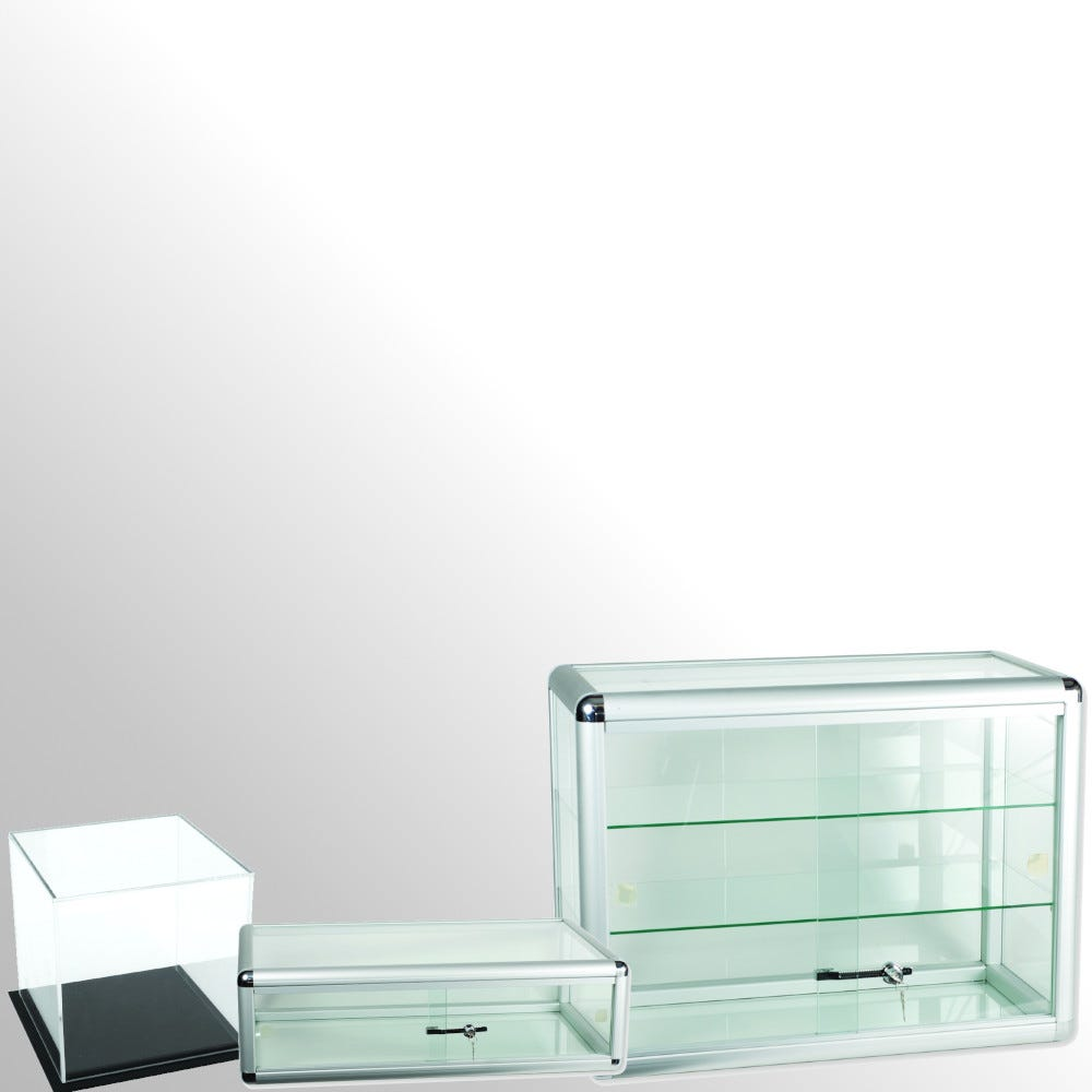 Display Cubes & Showcases