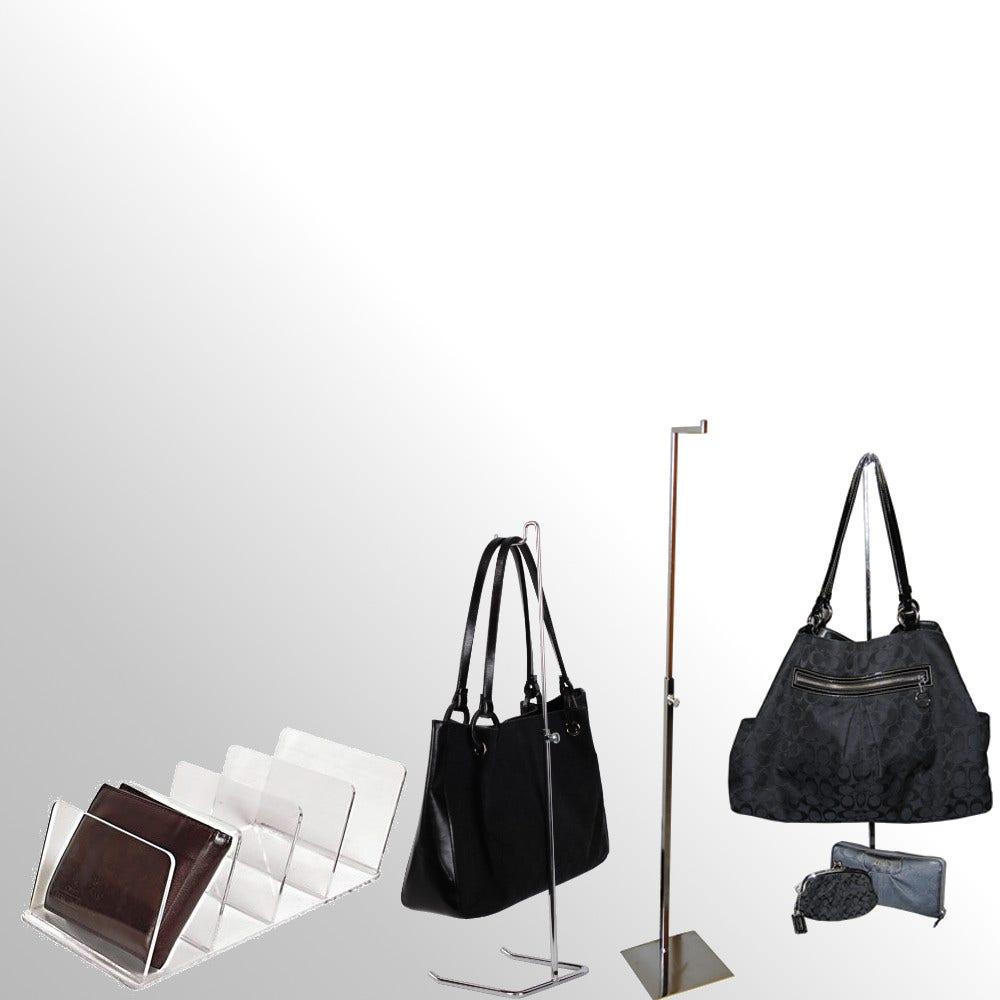 Hand Bag, Purse & Wallet Displays