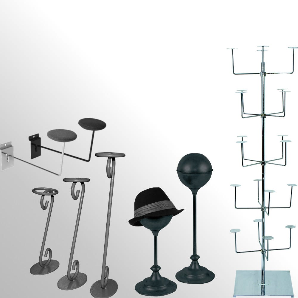 Hat, Cap & Millinery Displays