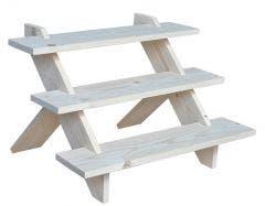 Wooden 3 Step Riser