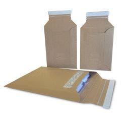 Rigid Mailers | Recycled Kraft Cardstock | 25 Per Pack