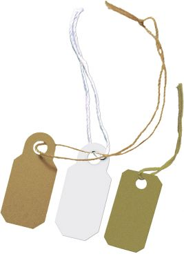 String Jewellery Tags