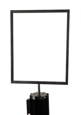 Sign Holder for Stanchions