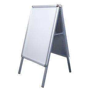 A-Frame Aluminum White Marker Board