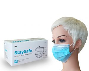Face Masks | Ultra Soft 3-Ply | 50 Per Box