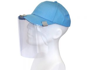 Face Shields   For Ball Caps   3 Per Kit