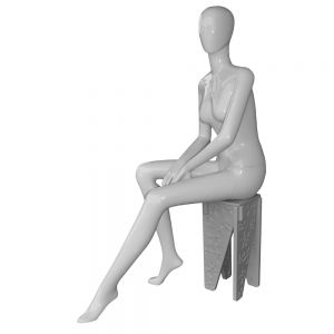 Abstract Sitting Female Mannequin