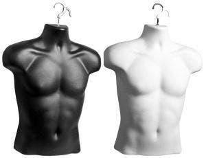 Male Hanging Form - Black