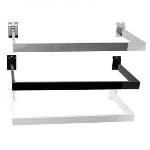 U Shaped Hangrails For Slatwall