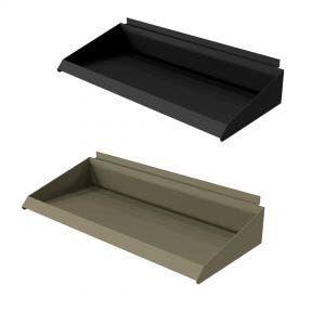 Metal Shelf Tray For Slatwall | 24