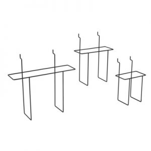 Slatwall Wire Literature Holders
