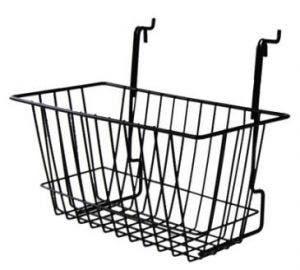 Slatwall & Gridwall Wire Basket | 6
