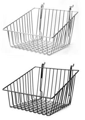 Slatwall & Grid Slanted Wire Basket 12