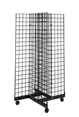 Four Way Grid Display Unit | Black