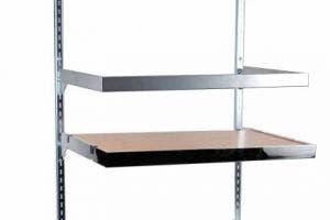 U Shaped Hangrail for Slotted Standards