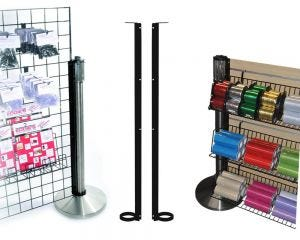 Stanchion Support Channel for Grid Panels