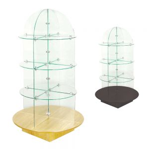 Rotating Glass Towers
