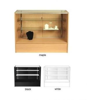 Counter & Display Case Combo | Glass & Laminate