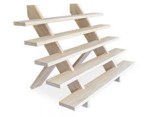 Wooden 5 Step Riser