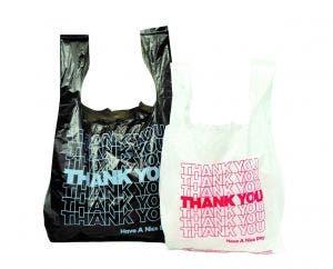 Thank You T Shirt Bags