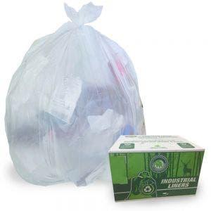 Industrial Garbage Bags / Liners | Clear
