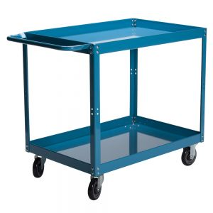Warehouse Service Cart With Two Shelves