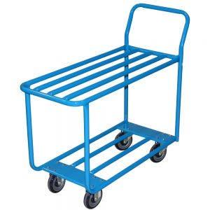 Two Shelf Tube Cart