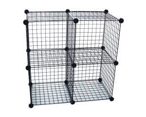 Modular Grid Cube Configurations