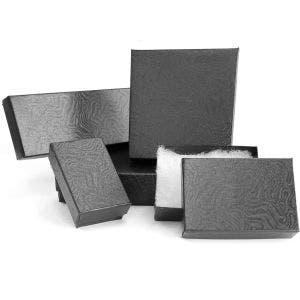 Jewellery Boxes | Black Swirl