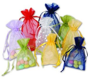 Organza Bags | Solid Colours