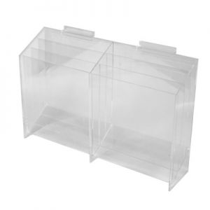 6 Bay Slatwall Literature Holder