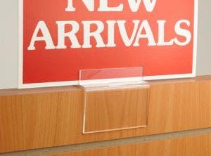 Sign Holder For Laminate Merchandisers