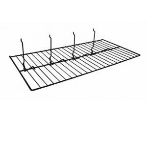 Slatwall & Grid Flat Wire Shelf - 12