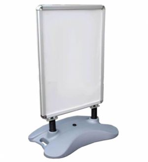 Water Base Aluminum Pavement Sign Stand