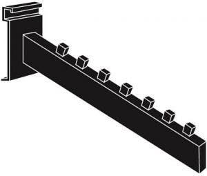 7 Cube Mini-Ladder Waterfall - Matte Black