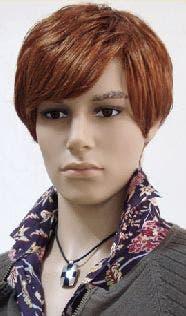 Male Medium Length Wig