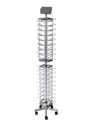Floorstanding Metal Eyewear Spinner