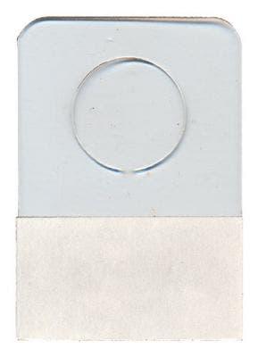 Repair Tab (plastic hang tab) 1-1/4