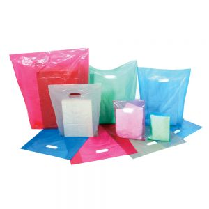Plastic Medium Density Rainbow Bags