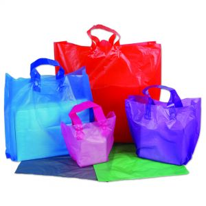 Plastic Soft Handle Bags