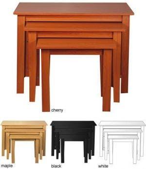 Three Piece Nesting Table Sets